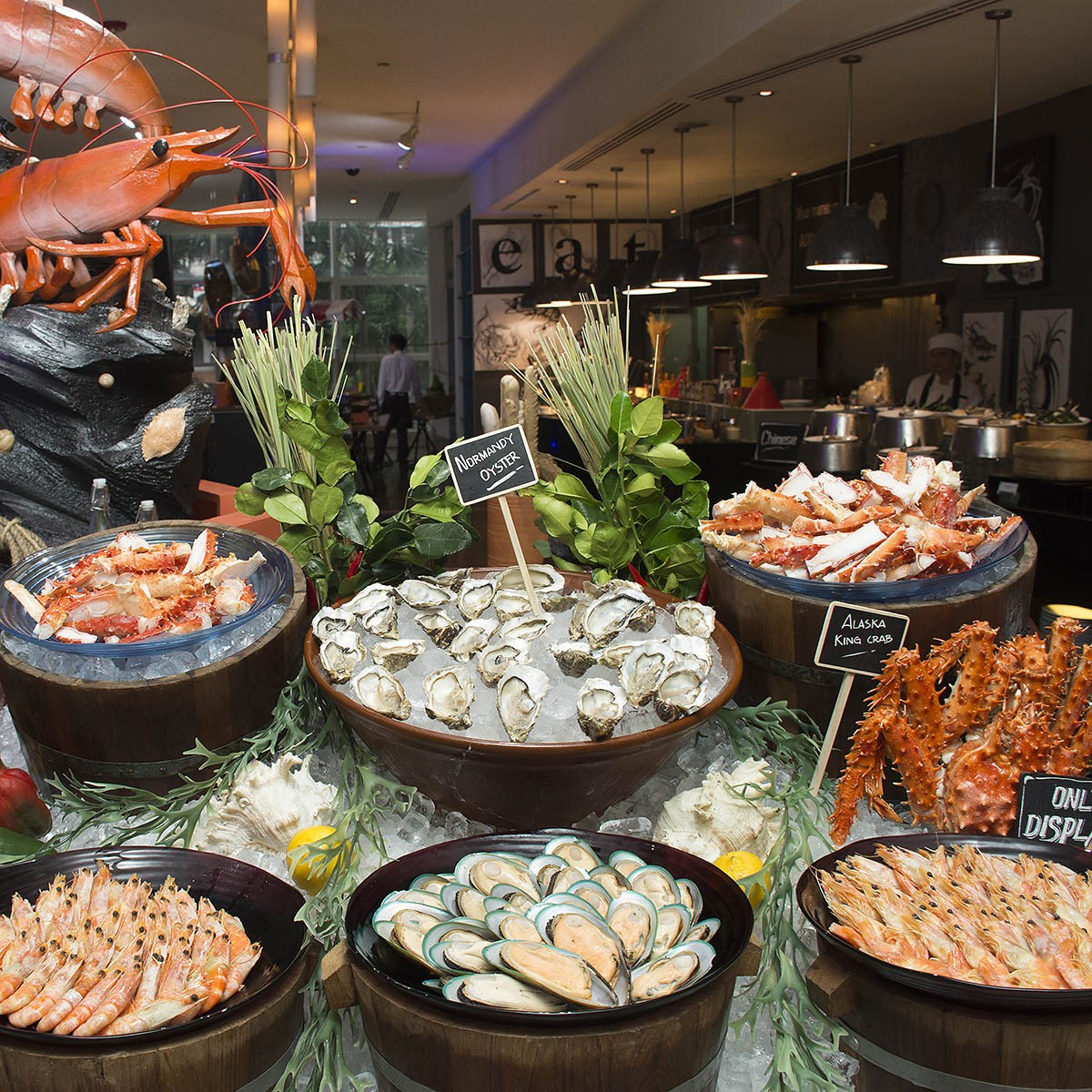 New Year's Eve Dinner Buffet Promotion