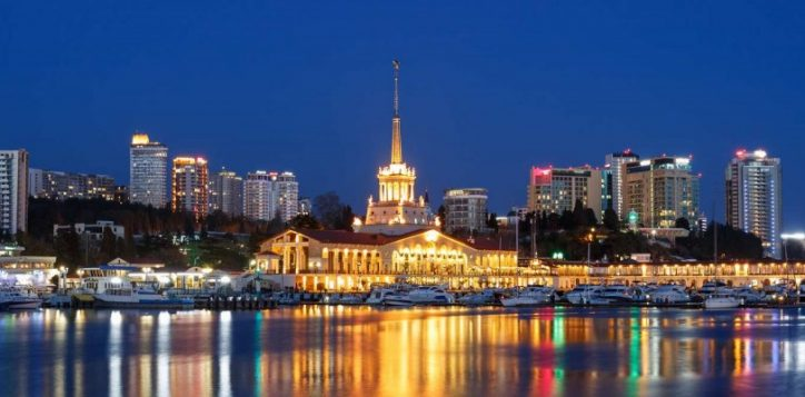 sochi-sea-port-by-night