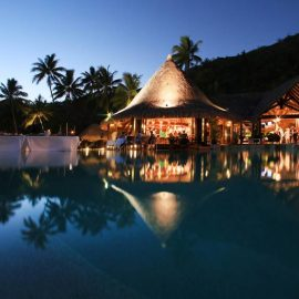Sofitel Bora Bora Marara Beach Resort Hurricane Bar