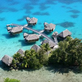Sofitel Bora Bora Marara Beach Resort overwater bungalow