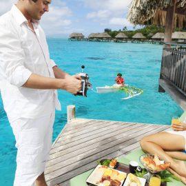 Sofitel Bora Bora Marara Beach Resort cano C BD breakfast