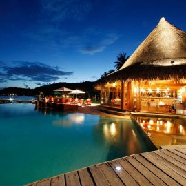 Sofitel Bora Bora Marara Beach Resort Restaurant Barresized