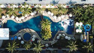 Resort Exterior - Shot taken from above