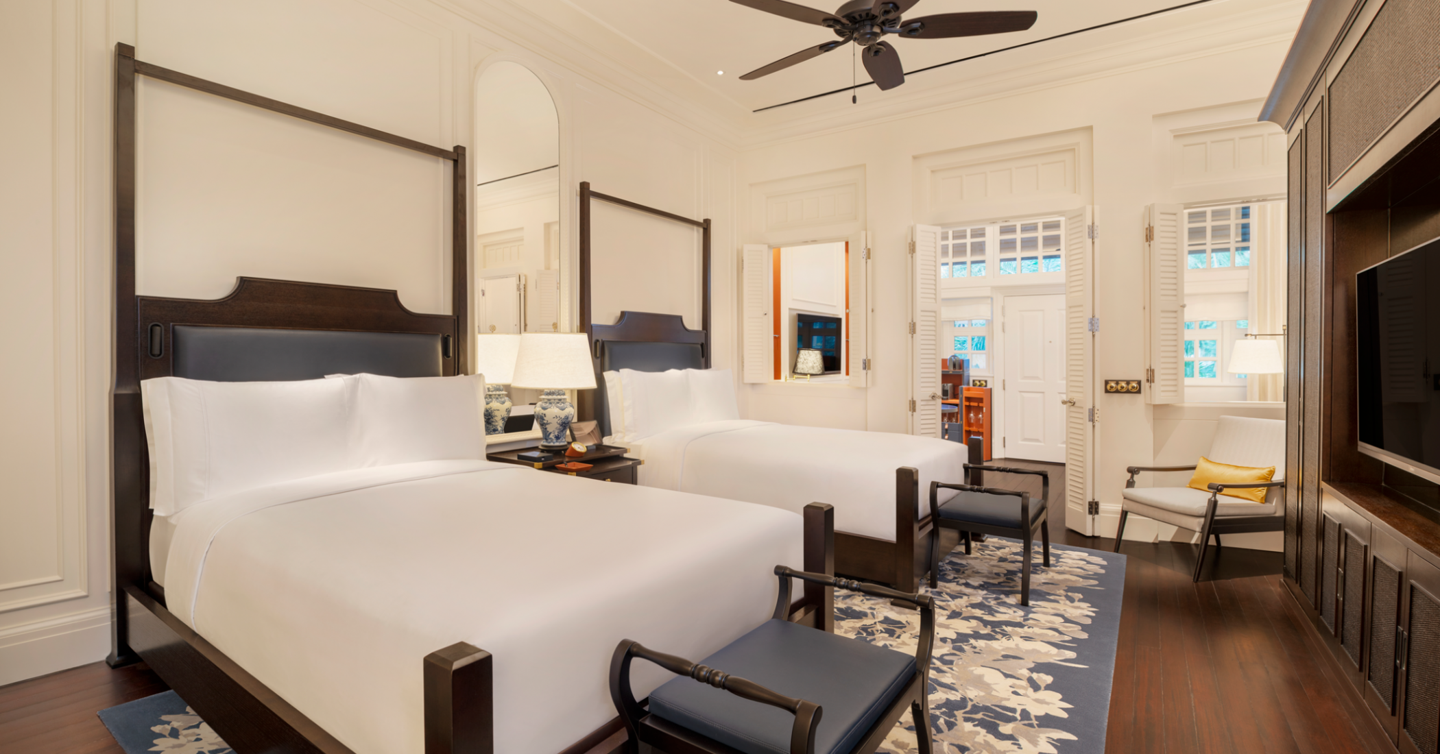 Raffles Singapore  - Courtyard Suites