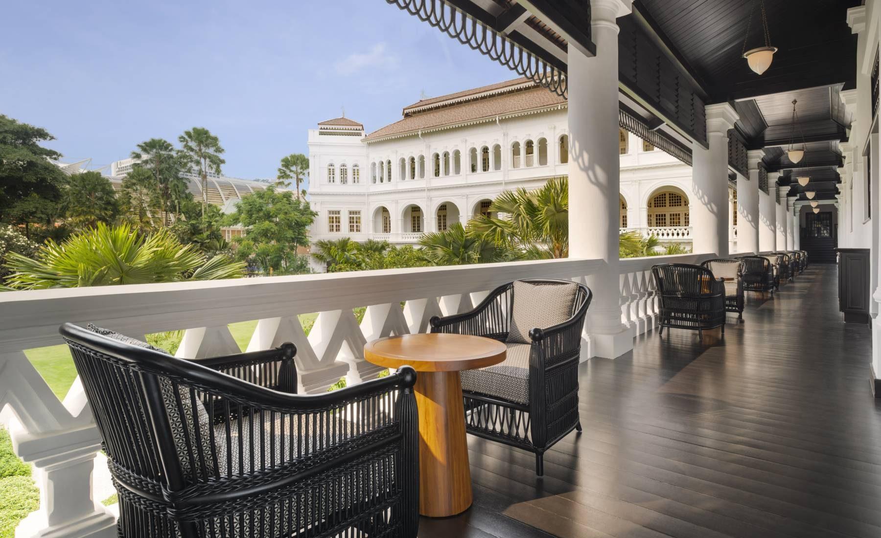 Raffles Singapore - Palm Court Suites
