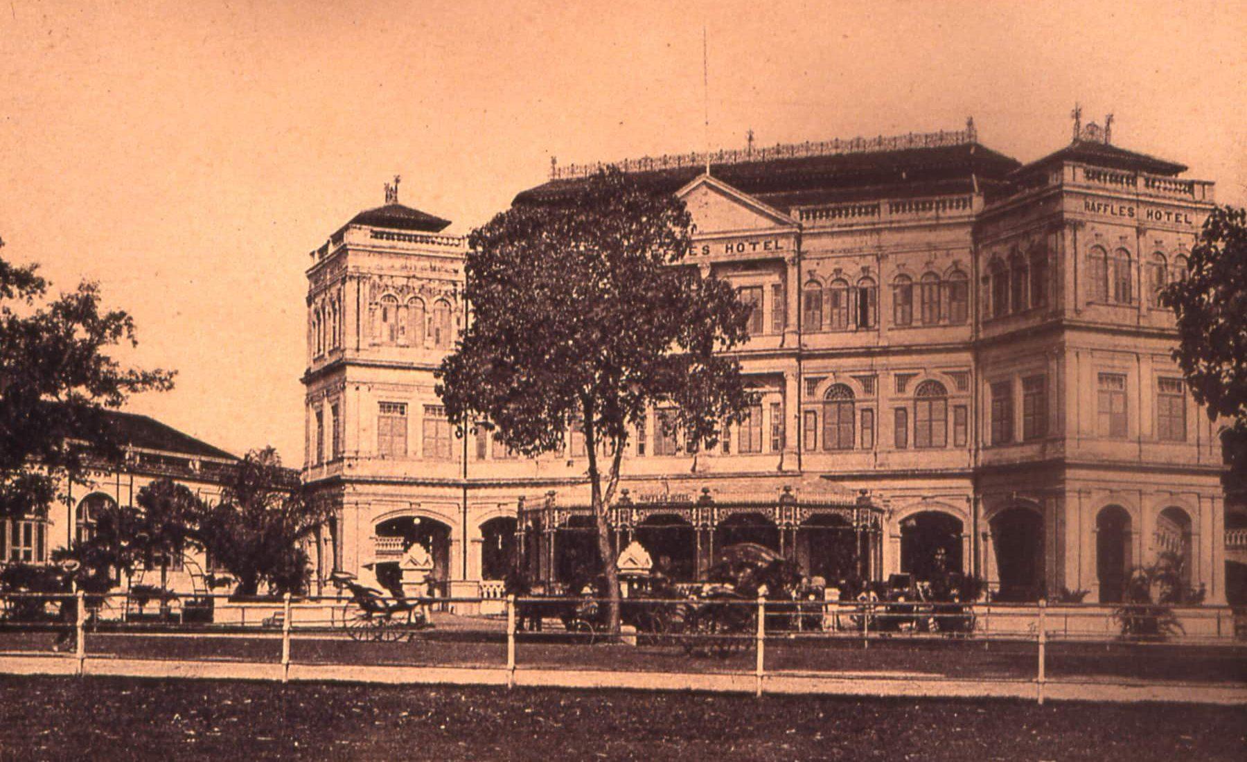 Raffles Singapore  - Early Modes of Transportation