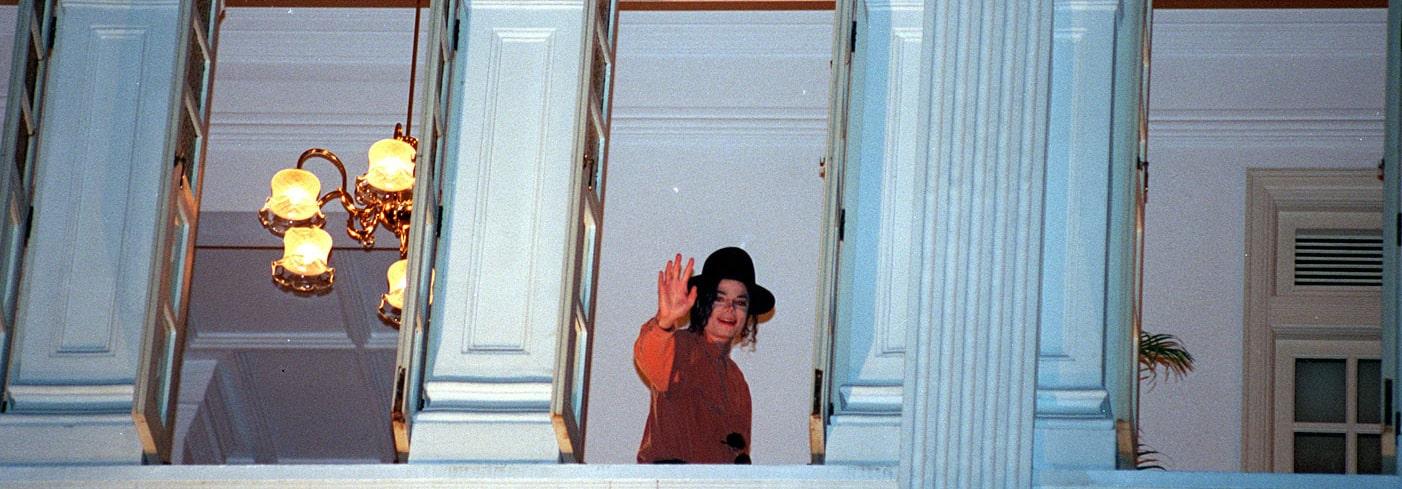 Raffles Singapore - Michael Jackson