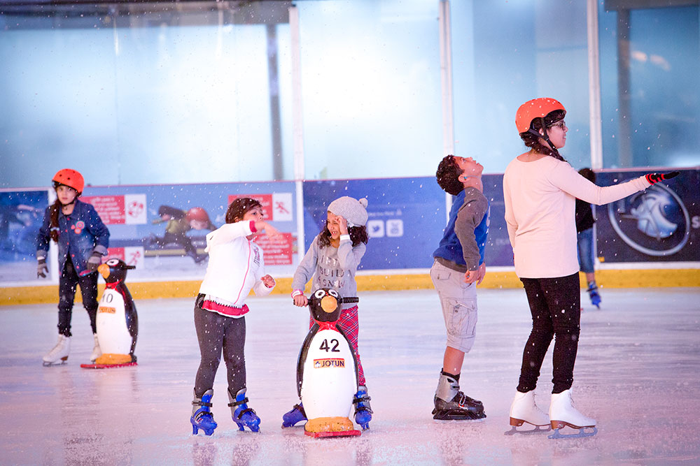 Ice Rink at Dubai Mall