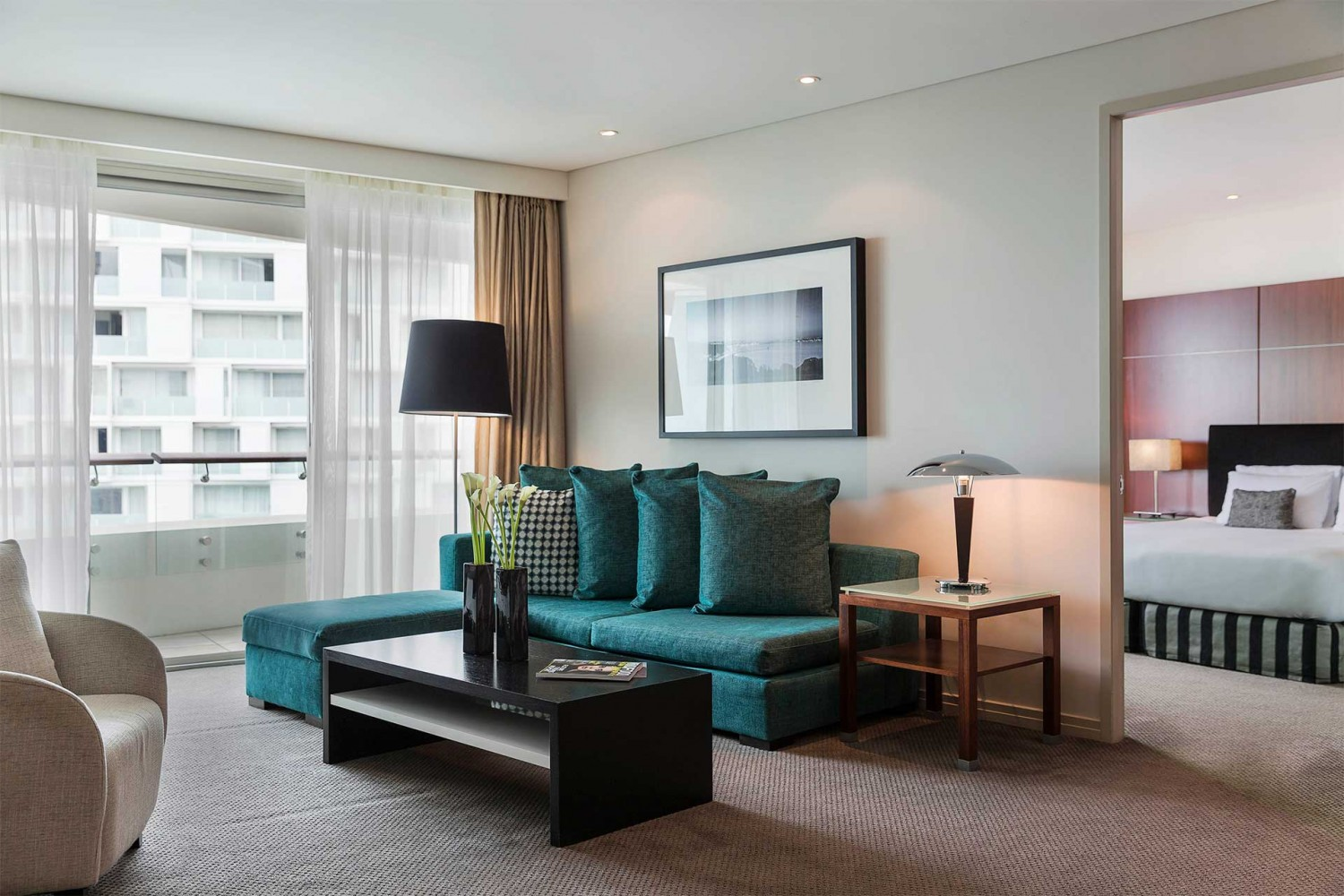 Pullman Auckland One Bedroom Residence Living Room