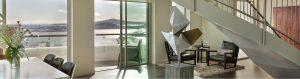Pullman Auckland Penthouse Lounge Lower Floor
