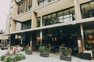 Hotel alfresco area