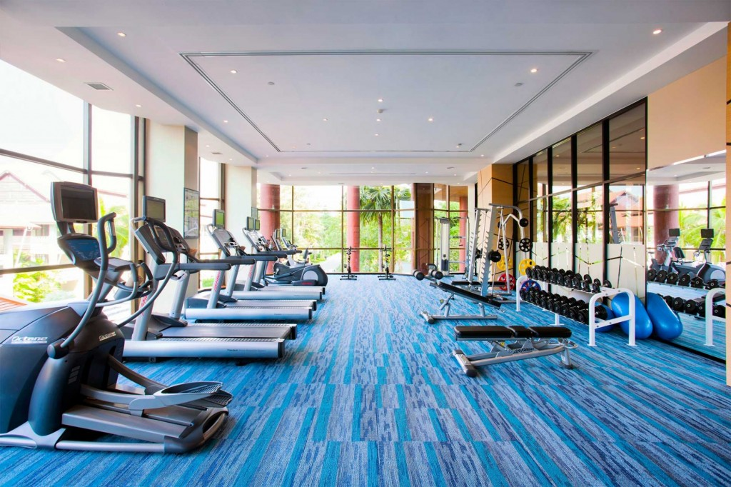 Pullman pattaya hotel g spa fitness