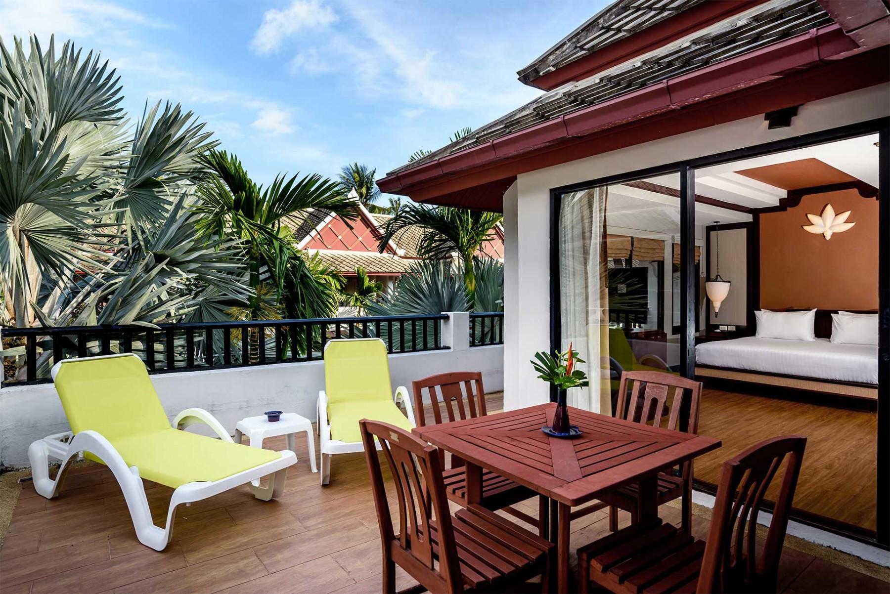 Novotel Samui Resort Chaweng Beach Kandaburi Two Bedroom Suite 39 S Balcony