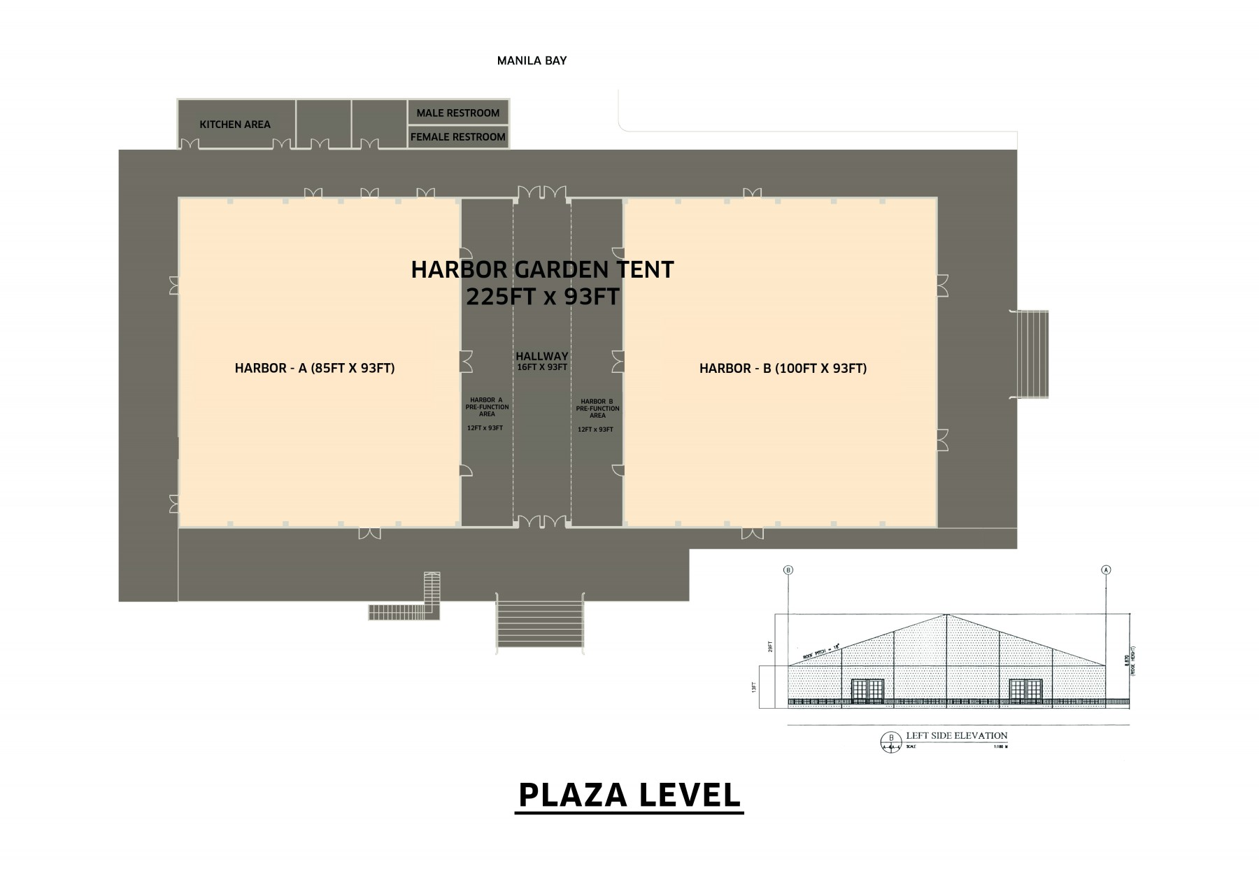 ... Harbor Garden Tent. Venue Floor Plan  sc 1 st  Sofitel Philippine Plaza Manila & Sofitel Philippine Plaza Manila - Harbor Garden Tent