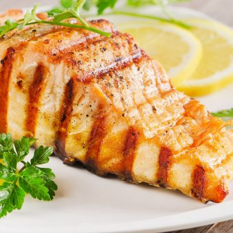 grilled-salmon-with-passion-sauce