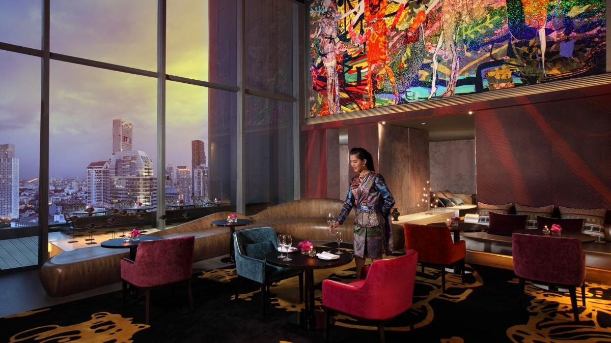 Monsieur christian lacroix so sofitel bangkok Hotel christian lacroix