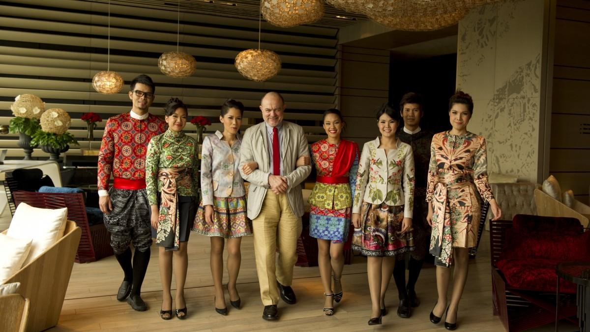 So sofitel bangkok monsieur christian lacroix and uniforms