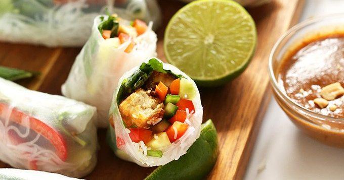 buffet-spring-rolls