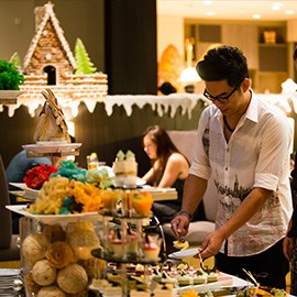 new year buffet in hotel 2018