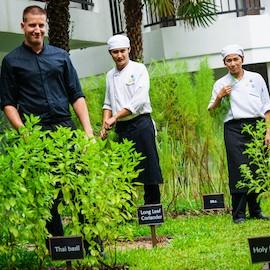 chef garden at Novotel Phuket Karon