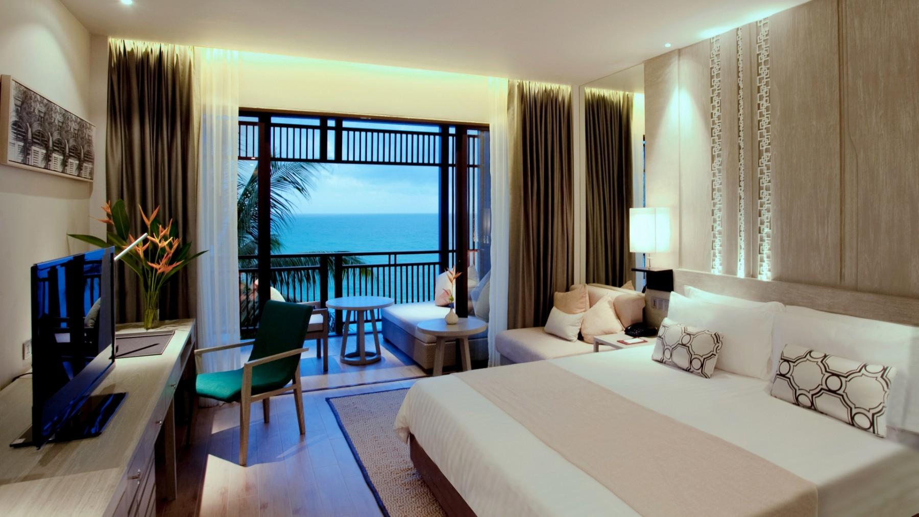 Ocean Bedroom Ocean Room Pullman Phuket Arcadia Naithon Beach