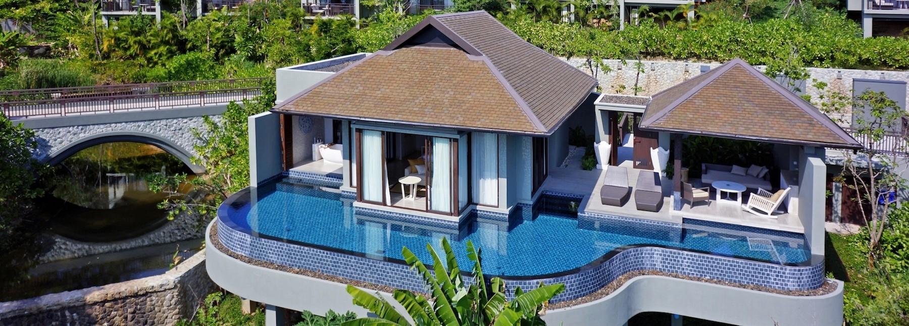 luxury ocean pool villas pullman phuket arcadia naithon