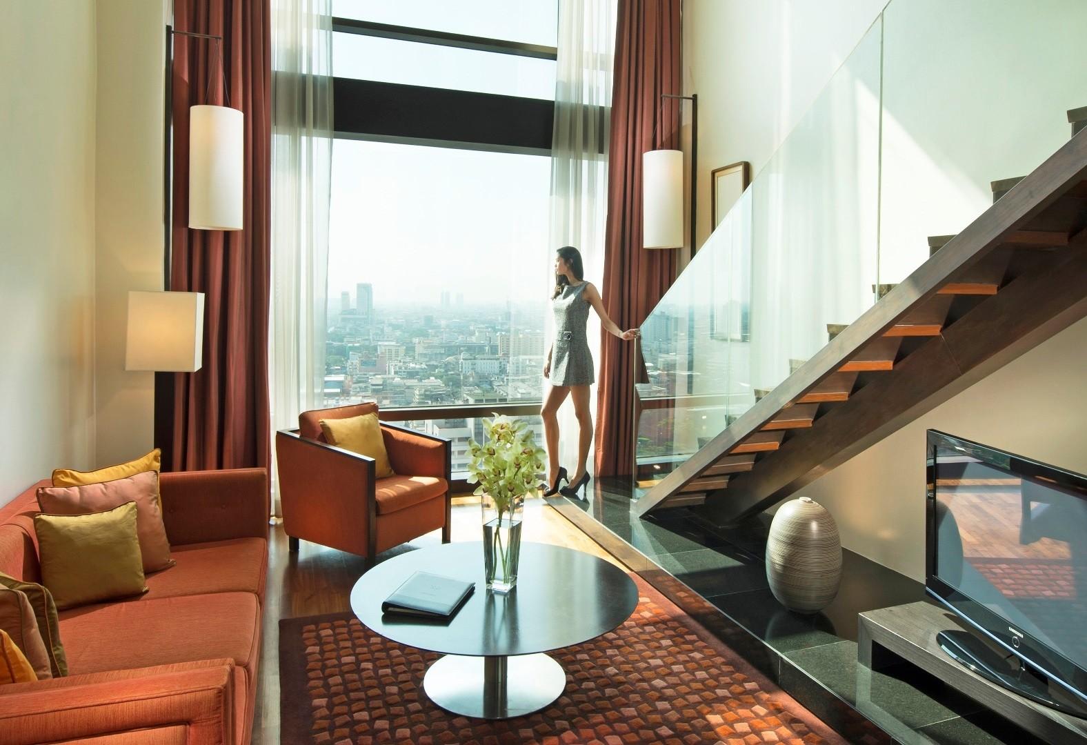 Grand duplex 2 bedroom hotel bangkok vie hotel bangkok for Duplex bed