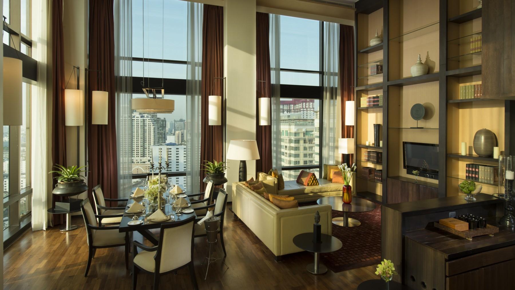 grand duplex 2 bedroom hotel bangkok vie hotel bangkok