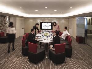 meeting room in Novotel Saigon Centre