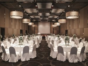 wedding ballroom in Novotel Saigon Centre
