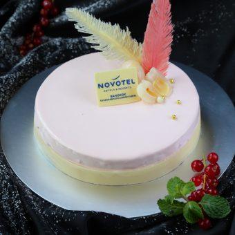 lychee-and-mango-mirror-cake