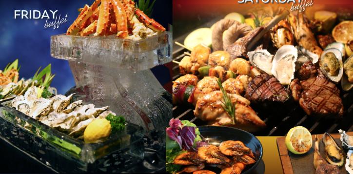 friday-seafood-saturday-bbq-dinner-buffet