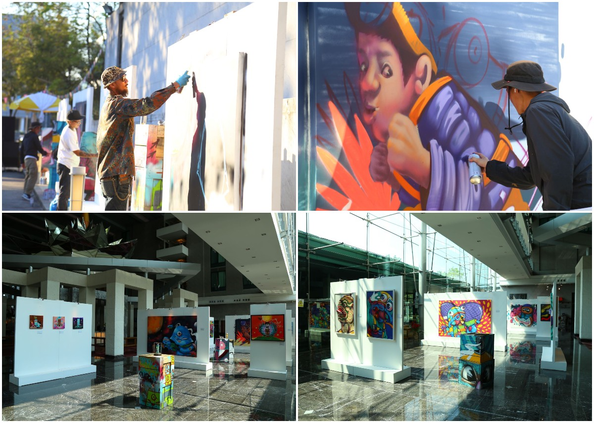 Exhibition Graffiti Street BKK Airport