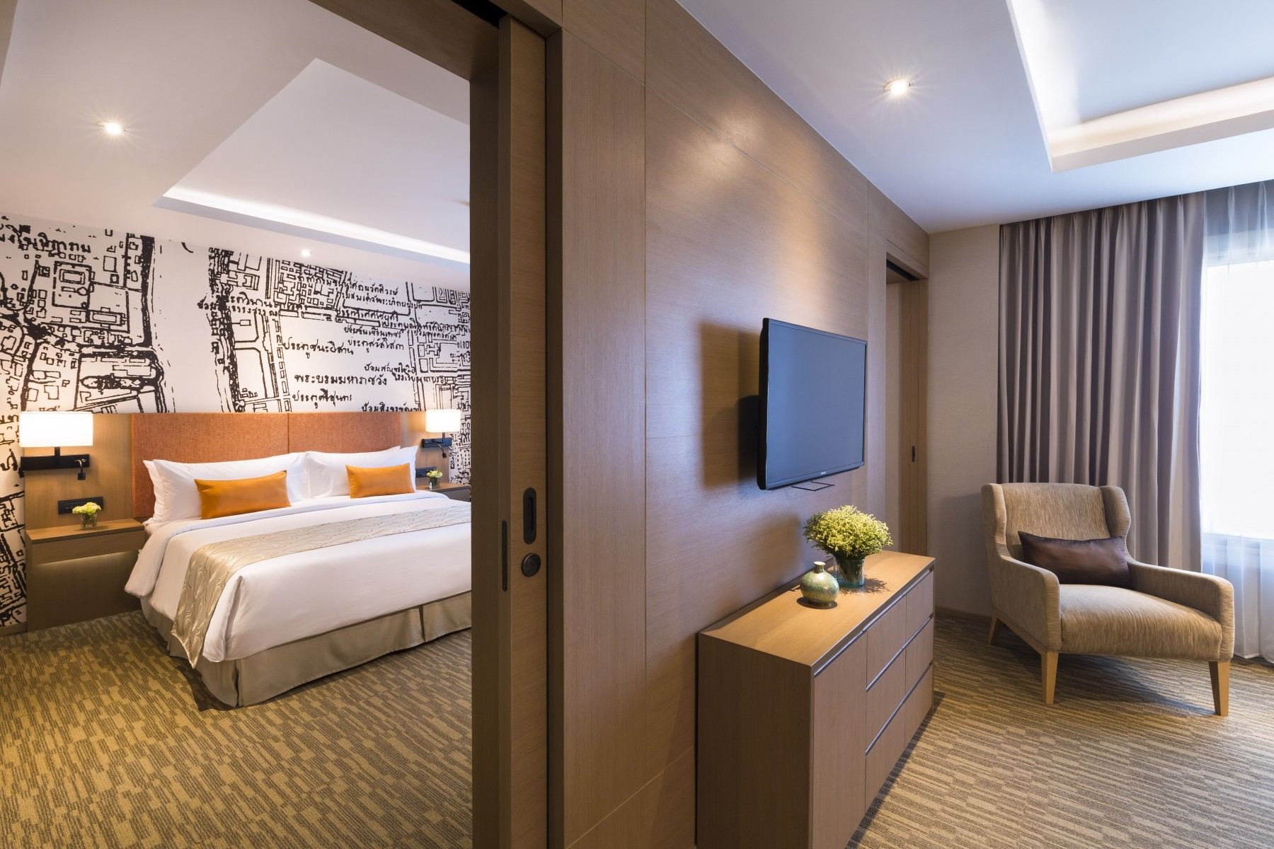 Grand Mercure Bangkok Fortune One Bedroom Suite - One bedroom suite