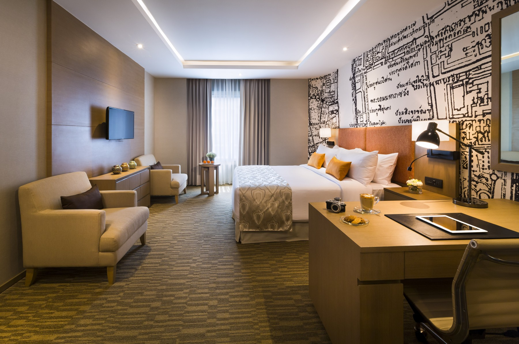 Grand mercure bangkok fortune studio suite