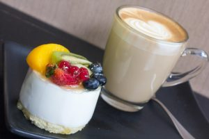 Hot drink and a Pastry offer at Fortune Baker