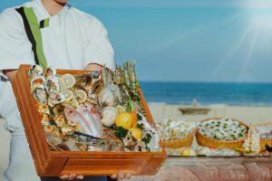 seafood restaurant in vietnam pullman danang beach resort buffet beach bbq weekends