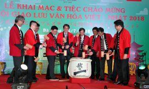 Vietnam Japan cultural exchange festival 2018 opening ceremony