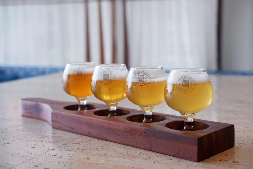 Pasteur Craft Beer Tasting Boards