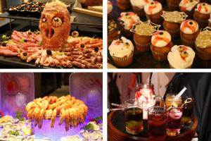 pullman danang beach resort epice restaurant trick or treat halloween international buffet themed