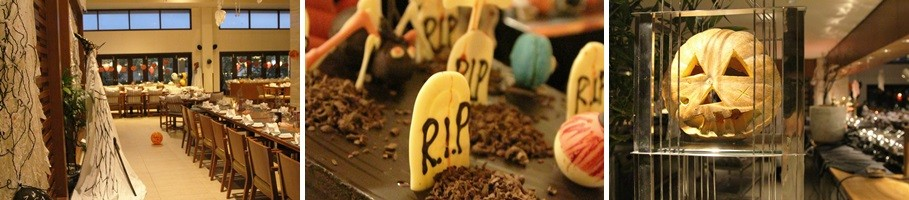 trick or treat halloween buffet