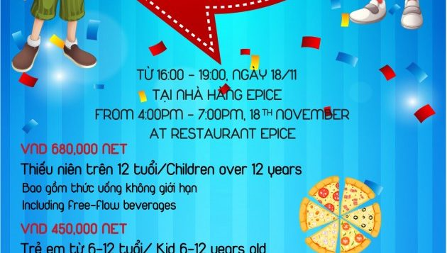 flyer-11cm-x-21cm_kiss-drop_front-pullman-danang-beach-resort-buffet-friendly-themed-for-kids