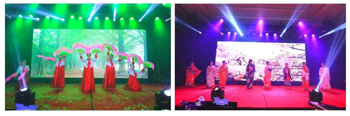 performance-all-around-the-world-theme-party-set-up-year-end-celebration-pullman-danang-beach-resort-indoor-venue-lotus-ballroom