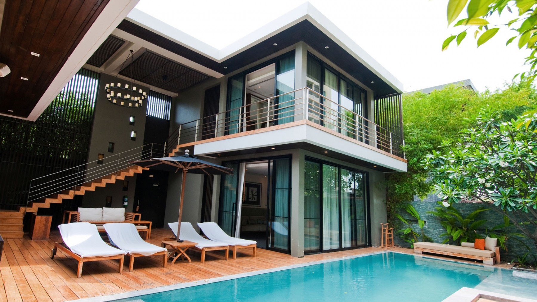 V villas hua hin villas overview for Design hotel hua hin