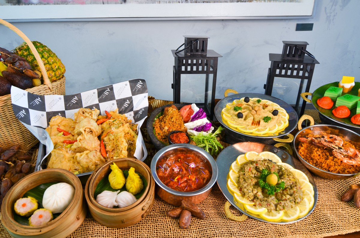 Sparkling Ramadan Buffet at Collage All Day Dining