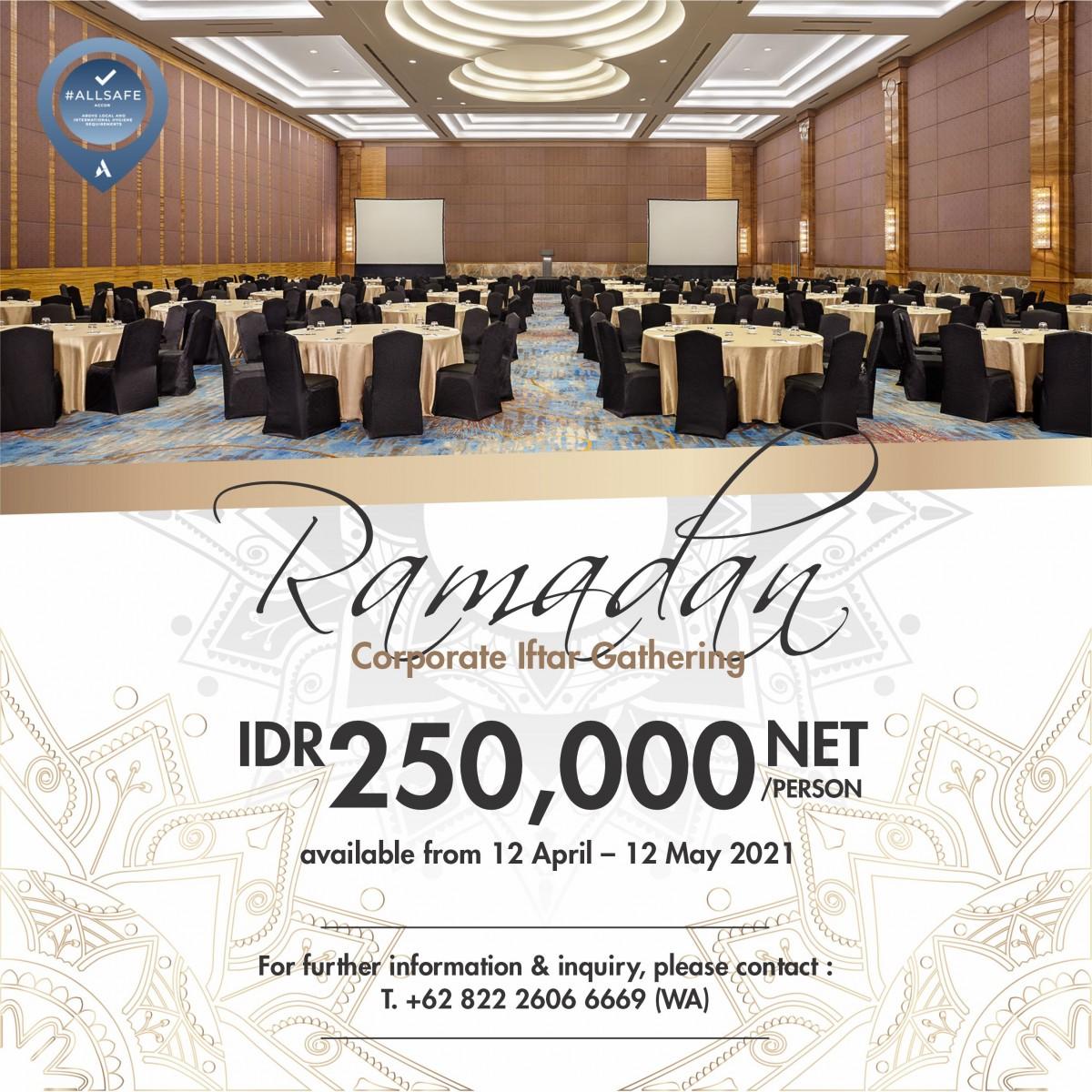 Ramadan Meeting Package