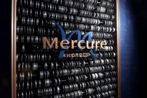Mercure Tokyo Ginza Brand Wall