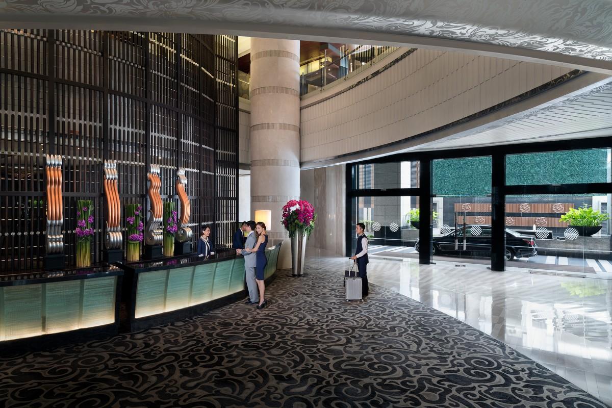 Bangkok Hotel Lobby Pullman Bangkok Grande Sukhumvit