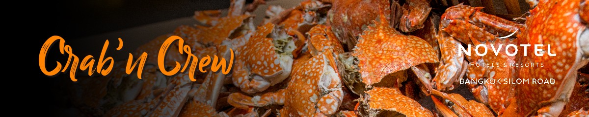 Crab buffet promotion