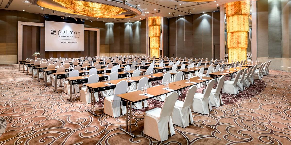 曼谷酒店的会议室